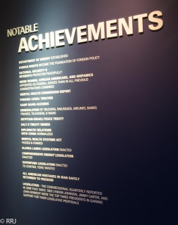 Carter's notable achievements