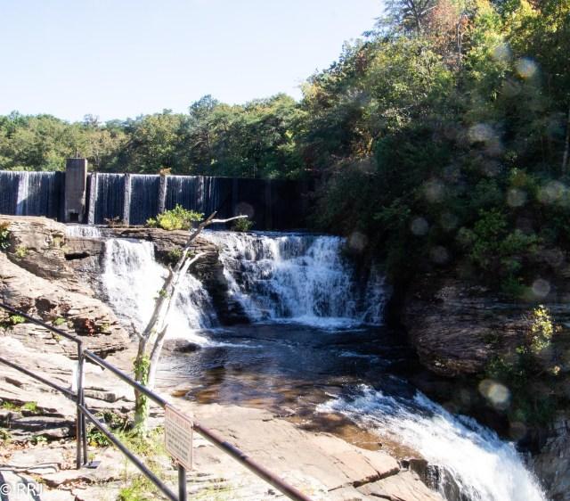 view of Desoto falls