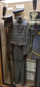 1918 West point uniform at Chennault museum