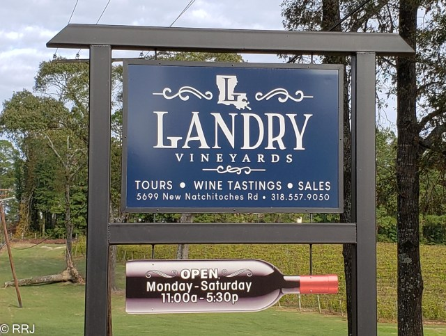 Landry Vineyards Monroe LA