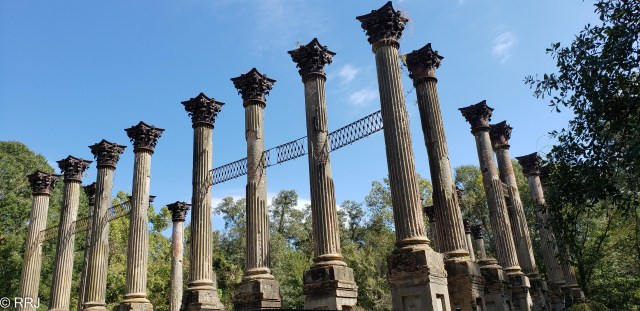 The Ruins of Windsor, Port Gibson Mississippi