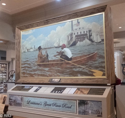 Great River Road Museum painting