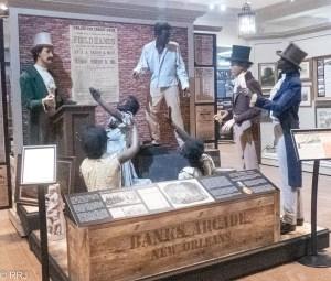Great River Road Museum Slave Auction