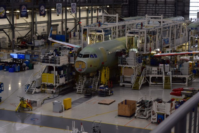 Airbus final assembly line tour mobile alabama