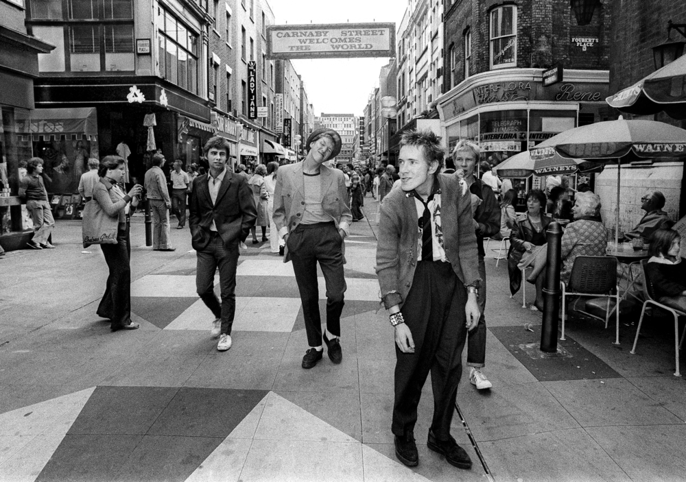 Sex Pistols. Carnaby Street