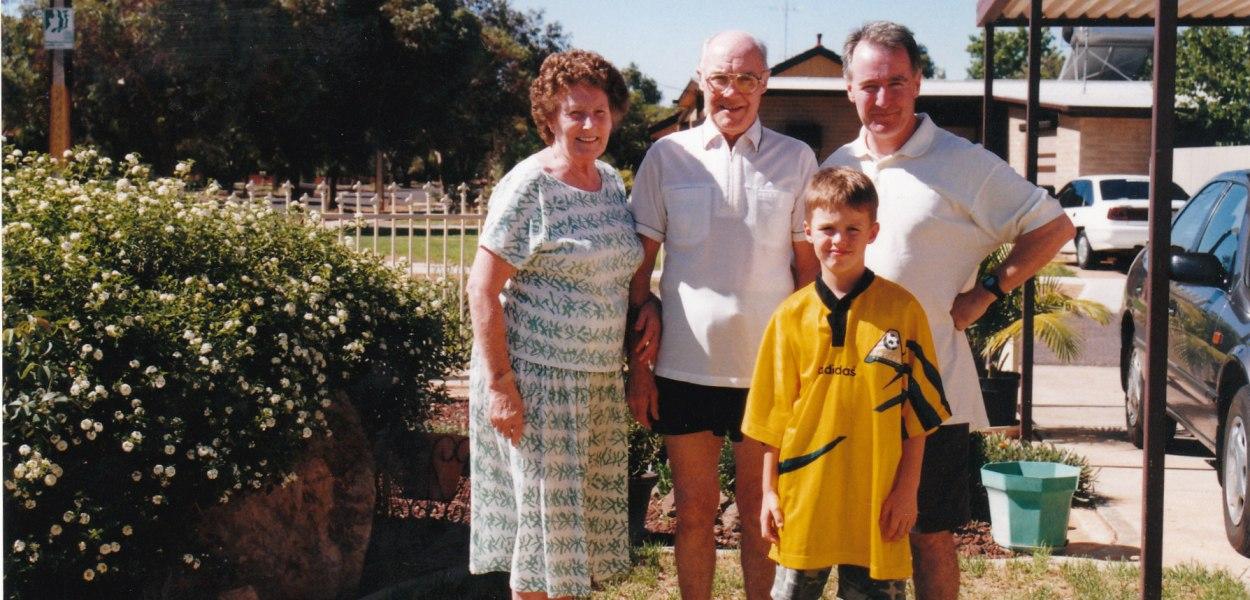 1999 Mum Dad Donald Calum