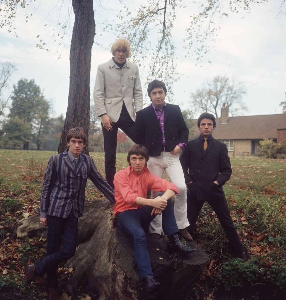 The Easybeats in England late 1966