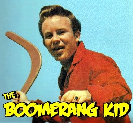 "Johnny O'Keefe -""The Boomerang Kid'"