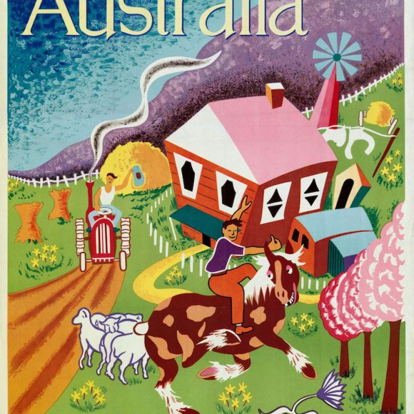 Australia - land of tomorrow