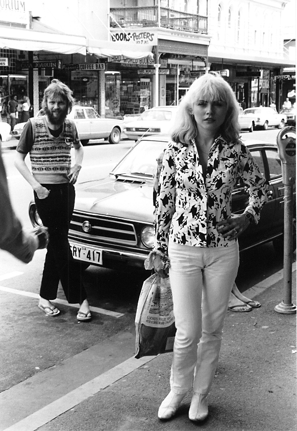 Stuart Coupe and Debbie Harry