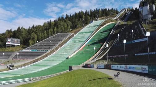 Lillehammer Olympia Gelände
