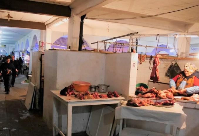Markt in Sucre Bolivien