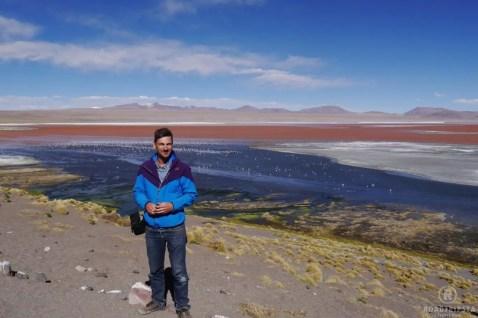 Bolivien Rote Lagune