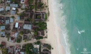 Sansibar von oben