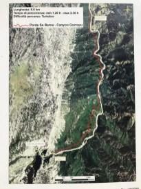 Wanderweg Gola di Goruppo