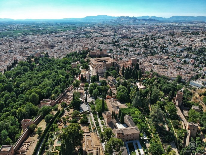 Alhambra Drohne