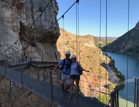 Caminito del Rey Brücke