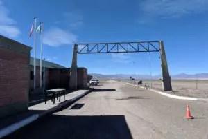 Grenzübergang Sico Pass