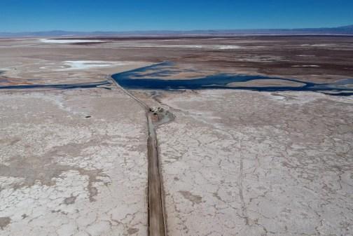 Laguna Cejar, Atacama Wüste, Chile