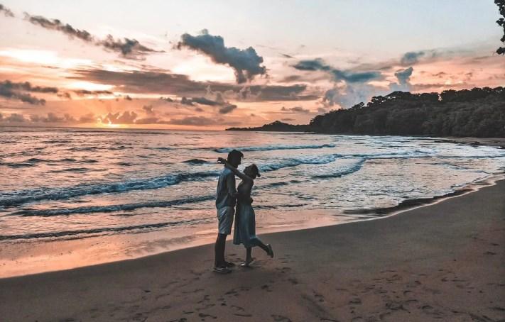 Sonnenaufgang in Puerto Viejo