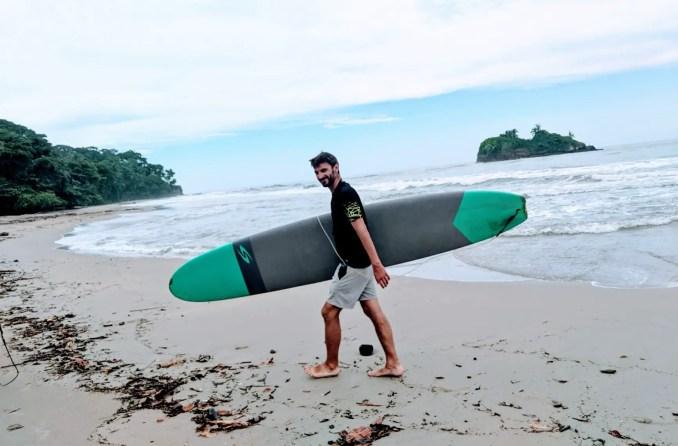 Surfen in Puerto Viejo