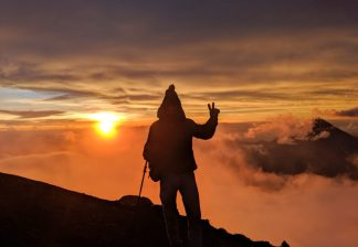 Wanderung auf den Gipfel des Vulkans Acatenango zum Sonnenaufgang