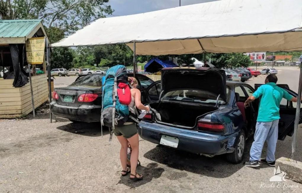 Guatemala Belize | Grenzübergang Flores nach San Ignacio