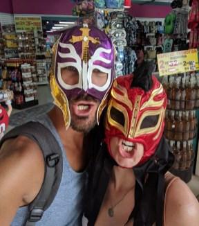 Wrestling Masken in Mexiko