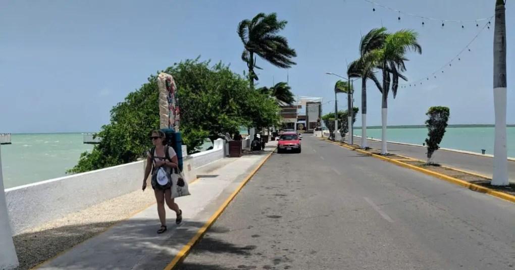 Per Boot von Belize nach Mexiko