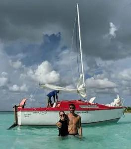 Bootstour Lagune Bacalar