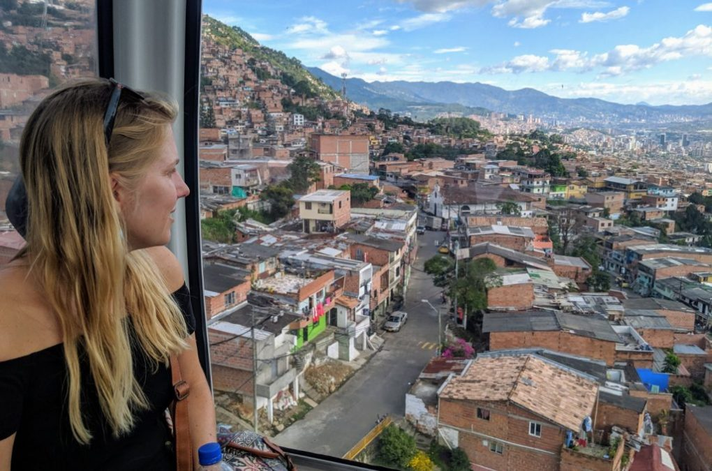 Medellin Seilbahn, Kolumbien