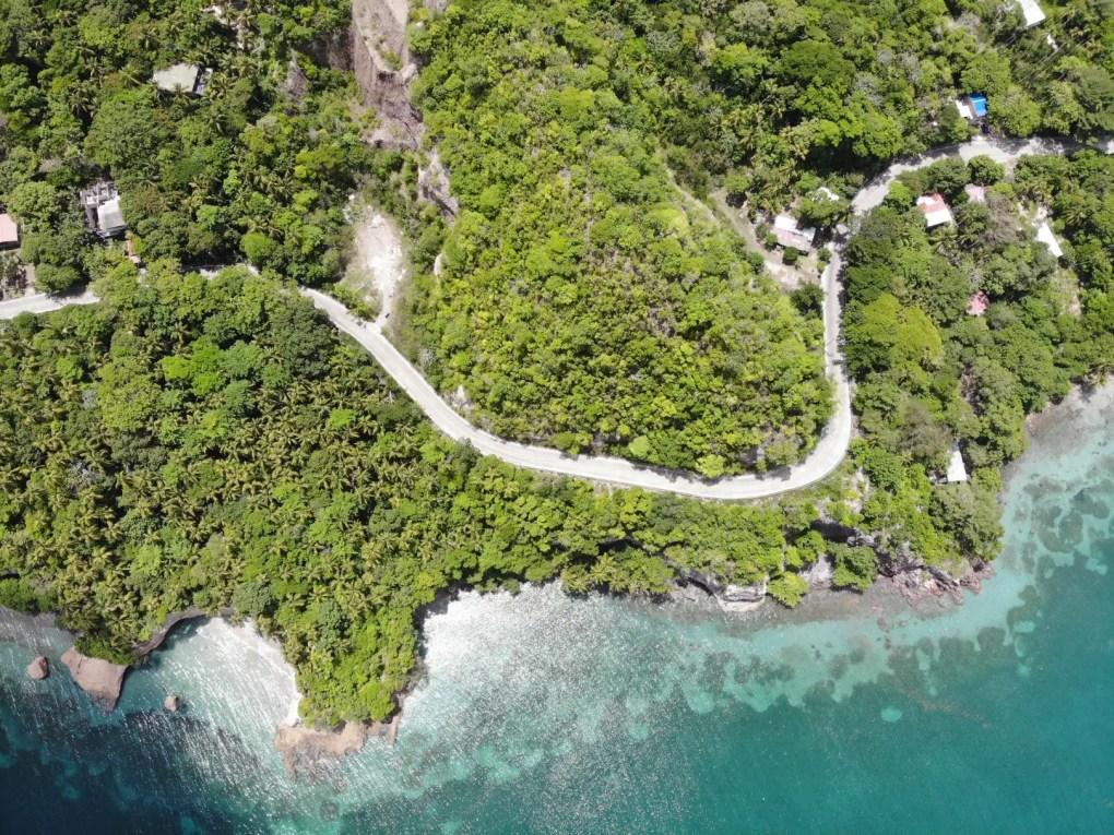 Providencia mit der Drohne