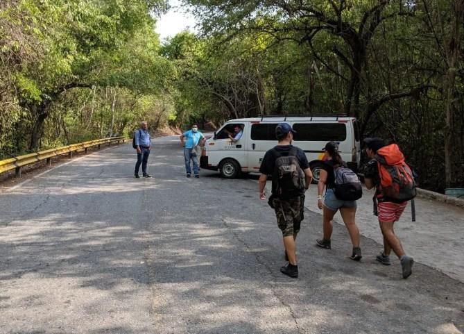 Bus fahren, Tayrona Nationalpark