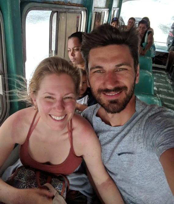 Fahrt mit der Fähre, Corcovado Nationalpark