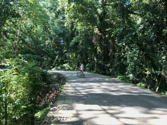 Straße zur Anse Cocos Wanderung