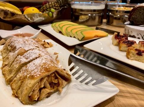Frühstück im Hotel Pass Lueg in Golling