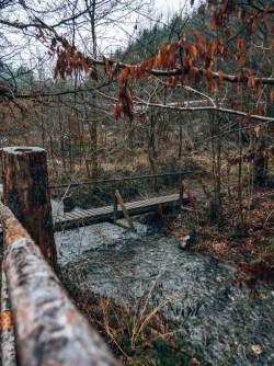 Traumschleife Masdascher Burgherrenweg Brücke