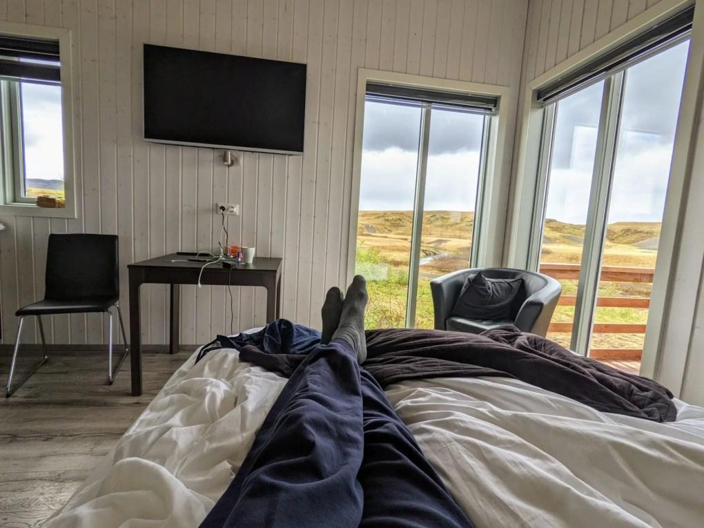 Quarantäne Unterkunft Island