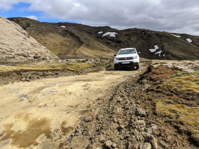 Island Laki Krater Auto