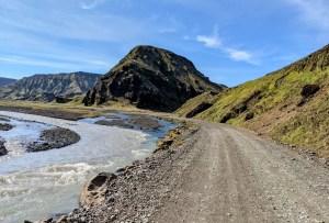 Islands Hochland mit normalem SUV I einfache F-Roads