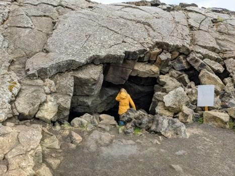 Grjotagja Höhle Myvatn Island
