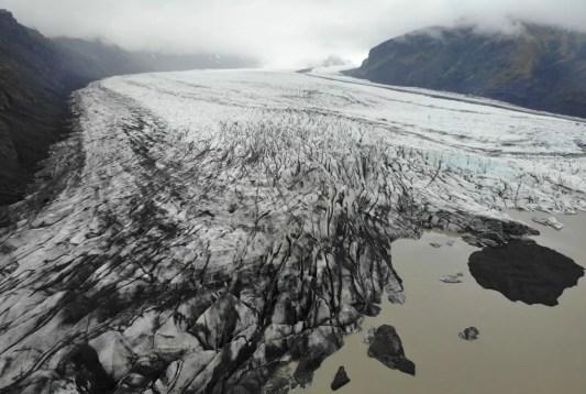 Skaftafell Nationalpark Gletscher