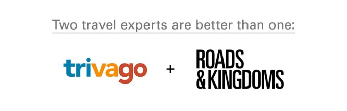 Trivago + Roads & Kingdoms