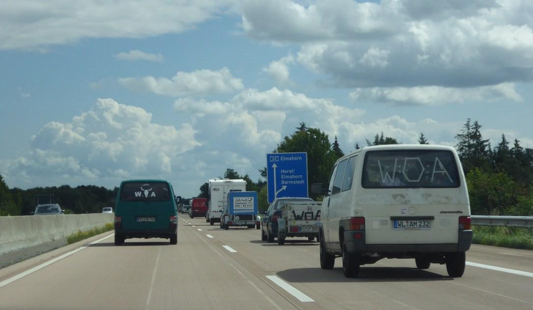 WOA by Car Wacken Open Air transit