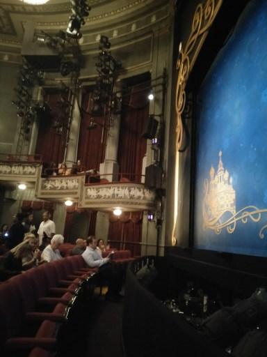 Interior of Broadhurst Theatre New York