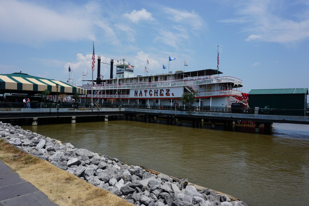 Steam boat Natchez docked in New Orleans