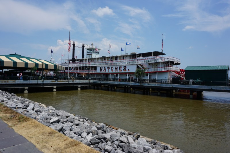 Steam boat Natchez docked in New Orleans