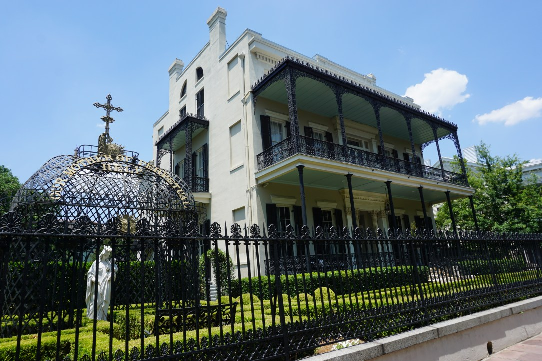 Another of the grand houses of the Garden District - Our Mother of Perpetual Help Chapel 2523 Prytania St.