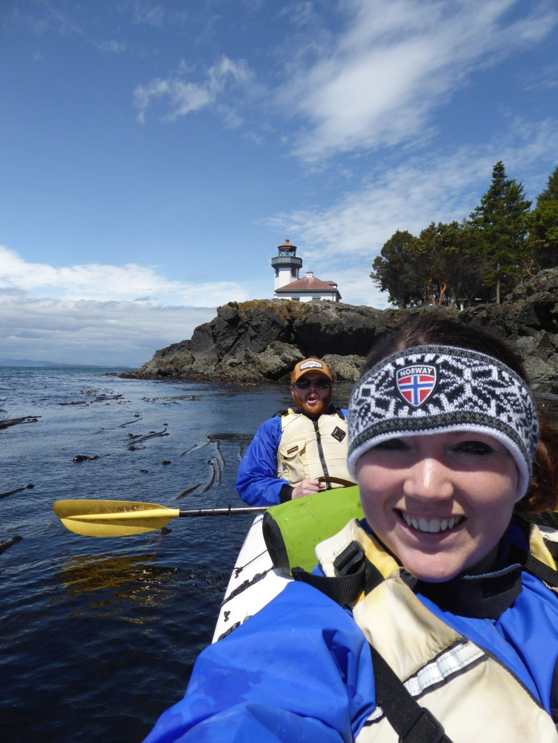 Kayaking around the San Juan Islands, Washington State