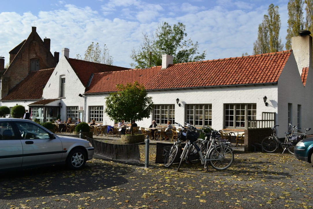 Refreshment stop at Restaurant at Ter Doest